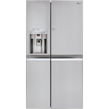 LG - 21.5 CuFt Counter Depth Side By Side Refrigerator