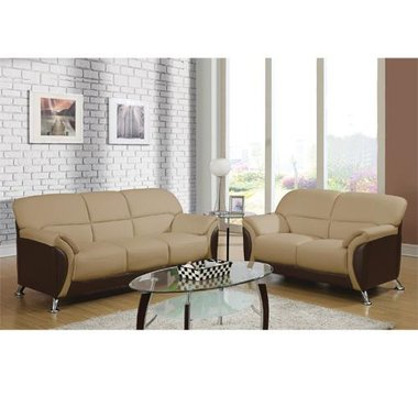 Global Furniture - Siena Stationary 2 Piece Living Room Group