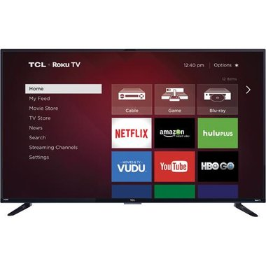 TCL - 55 Class Smart LED 4K UHD TV With Wi-Fi
