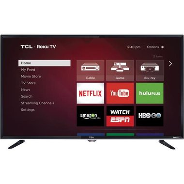 TCL - 32 Class Smart LED HDTV With Wi-Fi