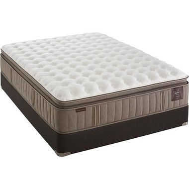 Stearns & Foster - Scarborough Luxury Firm Euro Pillow Top Advanced Adapt Foam California King