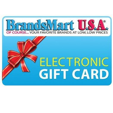 BrandsMart USA Gift Card - $300 Electronic Gift Card