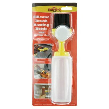 Mr. Bar-B-Q - Silicone Basting Bottle With Cap