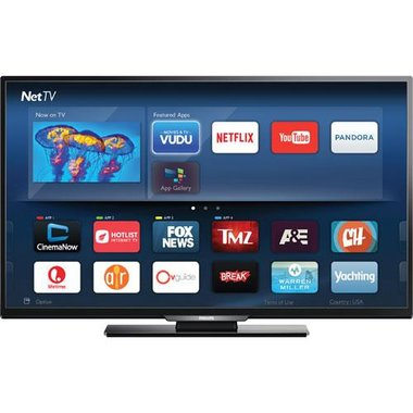 Philips - 55 Class Smart 1080P LED HDTV With Wi-Fi