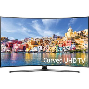 Samsung - 43 Class Smart Curved LED 4K UHD TV With Wi-Fi