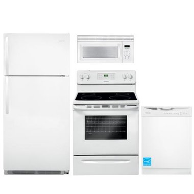 Frigidaire - White Complete Kitchen Package