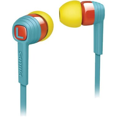 Philips - Earbud Headphones With Microphone