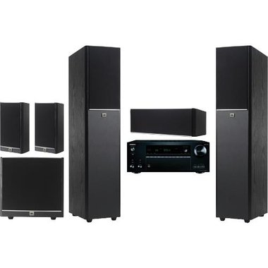 Onkyo - JBL Arena Series Home Theater Bundle