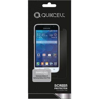 Quikcell - Quikcell Screen Protector For Samsung Galaxy J3