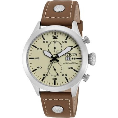Invicta - Men's Force Collection Leather Watch