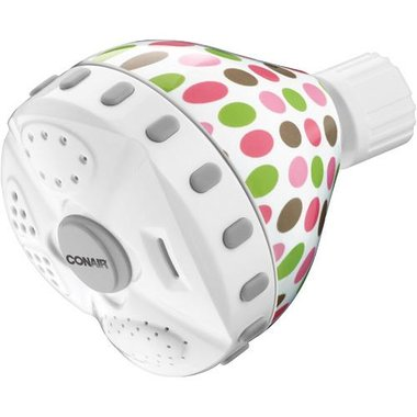 Conair - 4 Setting Fixed Mount Showerhead