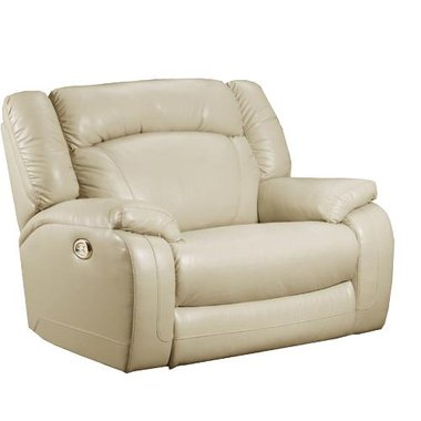 Simmons - Power Reclining Rocking Reclining Chair Featuring Chaise Pad Seating