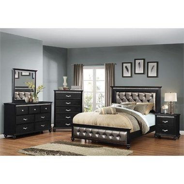 Simmons - Hollywood Queen Complete Bedroom Set