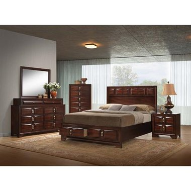 Simmons - Roswell Queen Complete Bedroom Set
