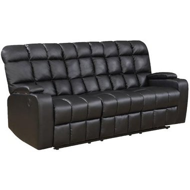 Global Furniture - Liberty Power Reclining Sofa With Arm Storage And USB Ports
