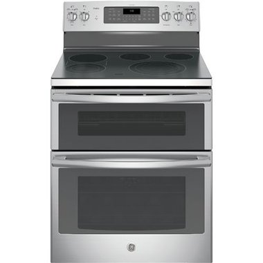 GE - 30 Electric Smooth Top Double Oven Range