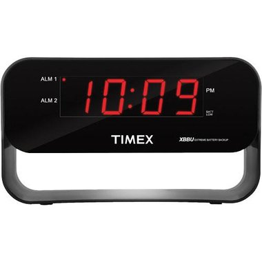 TIMEX - Dual Alarm Clock With USB Charging And Night Light