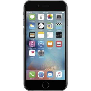 Apple - iPhone 6s 32GB - Space Gray (AT&T)