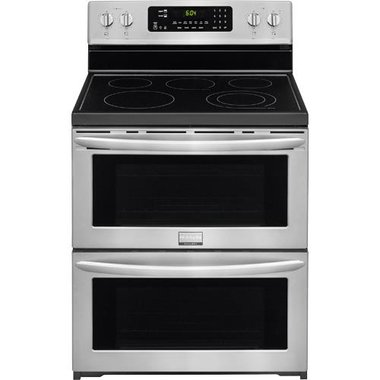 Frigidaire - 30 Electric Smooth Top Double Range