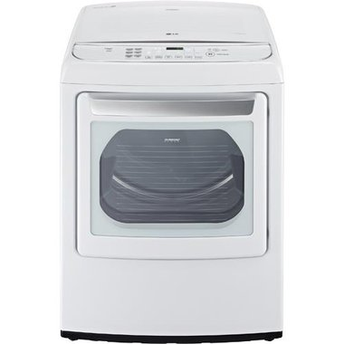 LG - 7.3 CuFt Front Load Electric Dryer
