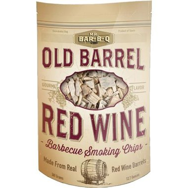 Mr. Bar-B-Q - Old Barrel Red Wine Barbecue Smoking Chips