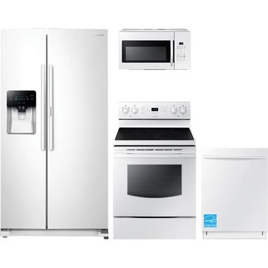 Samsung - White Complete Kitchen Package