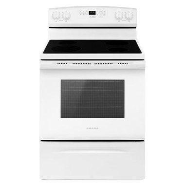 Amana - 30 Electric Smooth Top Range