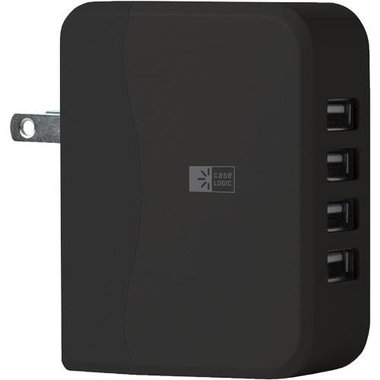 Case Logic - 4 USB Universal Wall Charger