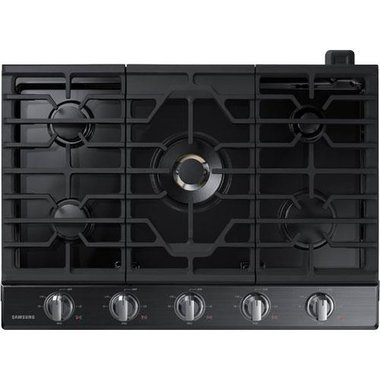 Samsung - 30 Gas Cooktop With Wi-Fi Connectivity