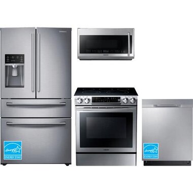 Samsung - Stainless Steel Complete Kitchen Package
