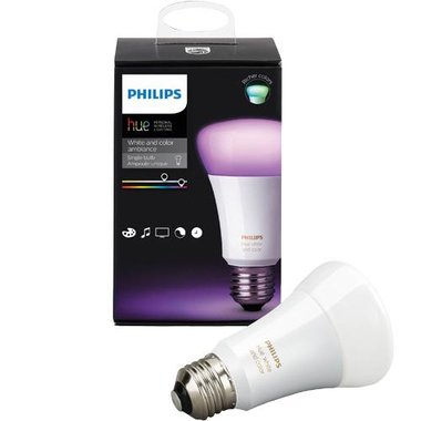 Philips Hue - White And Color Ambiance A19 Add-On Bulb (3rd Gen)