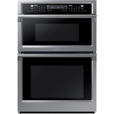 Samsung - 30 Built-In Combination Microwave/Wall Oven