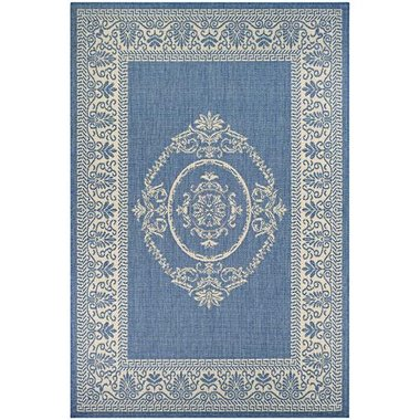 Couristan - Recife Collection Antique Medallion 5'x7' Indoor/Outdoor Area Rug