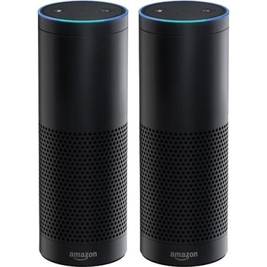 Amazon Echo - Echo Smart Home Assistant - 2 Pack