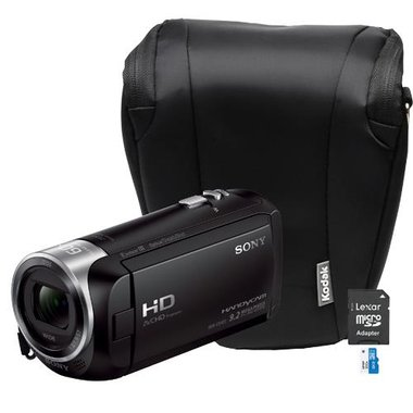 Sony - 9.2 MP 2.7 LCD Camcorder Kit