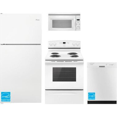 Amana - White Complete Kitchen Package