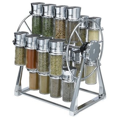 Olde Thompson - 20 Jar Ferris Wheel Spice Rack