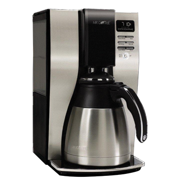 Coffee Maker Thermal Carafe Removable Water Reservoir : Mr. Coffee BVMC-PSTX91 10 Cup Programmable Thermal Coffeemaker, Removable Water Reservoir ...