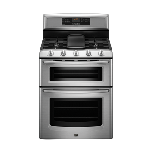 maytag mgt8885xs 30 freestanding gas range 6 0 cuft double oven capacity 1 16000 btu burner. Black Bedroom Furniture Sets. Home Design Ideas