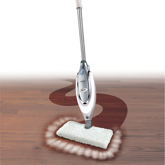 Shark S3601 Professional Steam Pocket Mop, Electronic Steam With Auto Shut Off, Swivel Mop Head ...