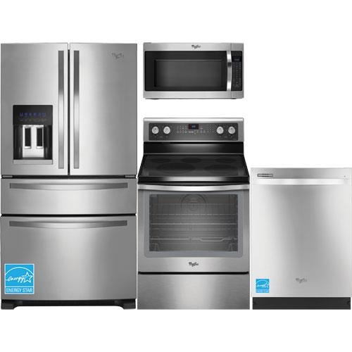 whirlpool wrx735sdbm ss stainless steel complete kitchen package whirlpool wrx735sdbm 25 0. Black Bedroom Furniture Sets. Home Design Ideas