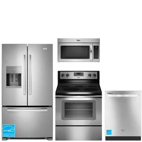 whirlpool gi6farxxy ss stainless steel complete kitchen package whirlpool gi6farxxy 25 6 cuft. Black Bedroom Furniture Sets. Home Design Ideas