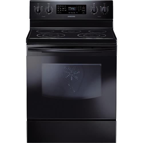 samsung ne594r0abbb aa 30 electric smooth top range 5 9 cuft capacity oven self cleaning oven. Black Bedroom Furniture Sets. Home Design Ideas