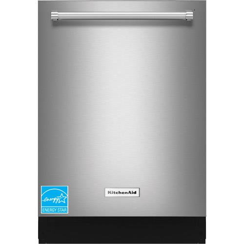 "KitchenAid 24"" Tall Tub Built-In Dishwasher Stainless Steel KDTE254ESS"
