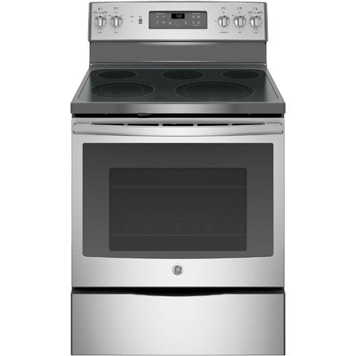 ge jb700sj ss 30 stainless steel smooth top range with 5 3 cuft self cleaning oven brandsmart usa. Black Bedroom Furniture Sets. Home Design Ideas