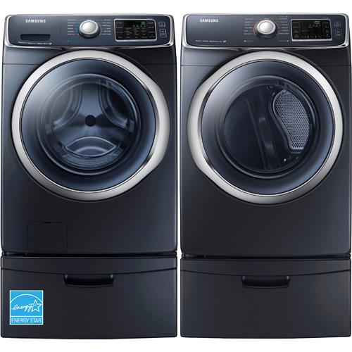 Samsung Wf45h6300ag 4 5 Cuft Onyx 27 Quot Front Load Washer