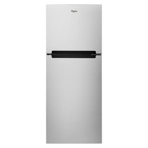 Whirlpool 10.6 Cu. Ft. Frost-Free Top-Freezer Refrigerator Stainless Steel WRT111SFDM