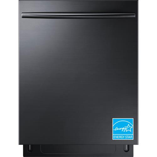 "Samsung Stormwash, 3rd Rack, 24"" Top Control Built-In Dishwasher Black Stainless Steel DW80K7050UG"