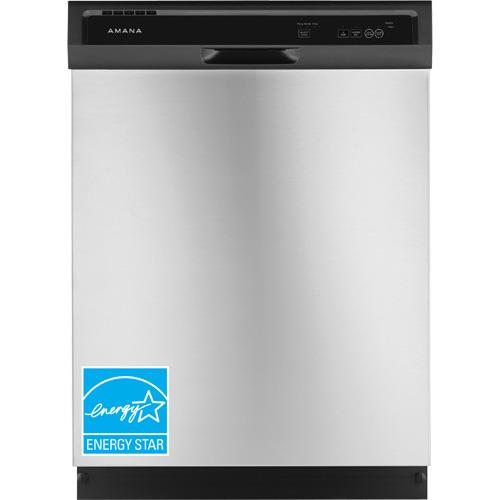 "Amana 24"" Built-In Dishwasher Stainless steel ADB1400AGS"