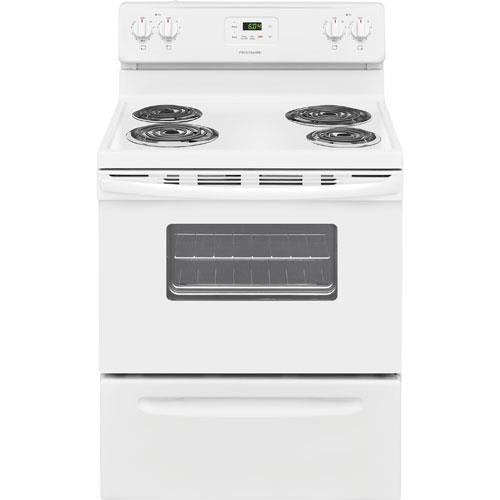 Click here for Frigidaire FFEF3012TW 30 White Electric Coil Range prices